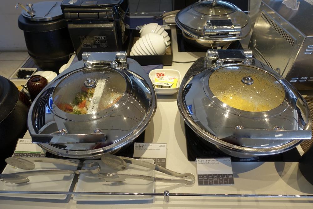 成田空港第1ターミナル 第5サテライト ANAスイートラウンジ 朝食温菜
