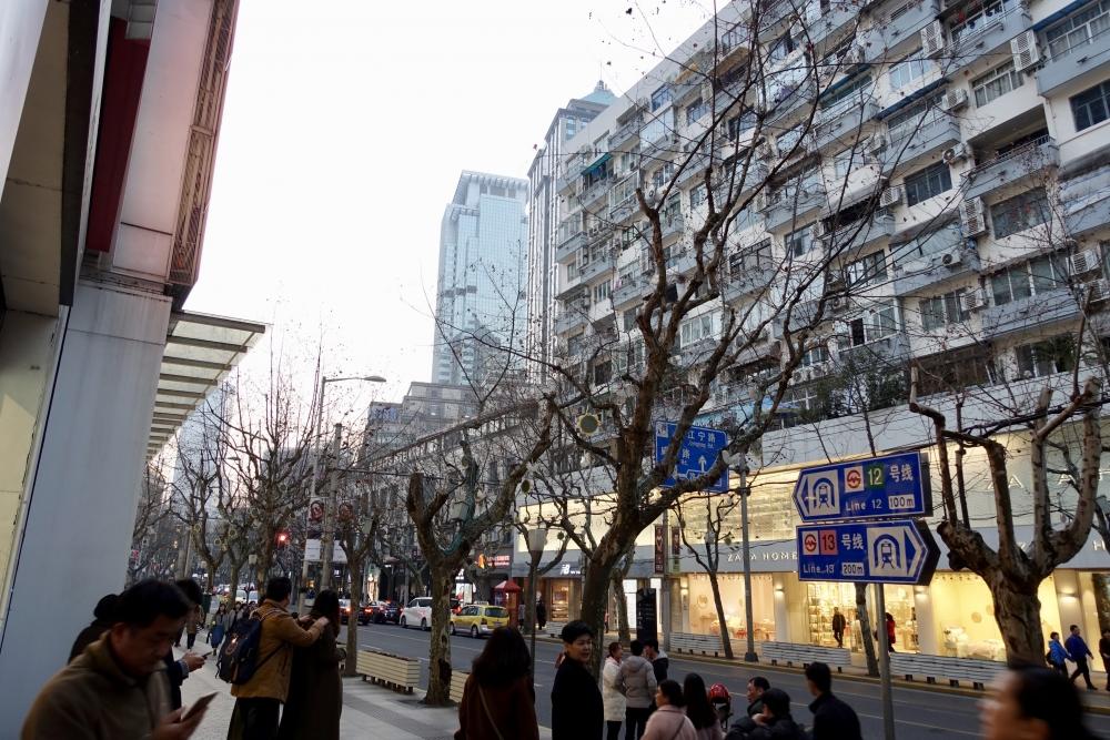 南京西路駅