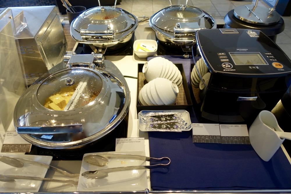 成田空港第1ターミナル 第5サテライト ANAスイートラウンジ 朝食