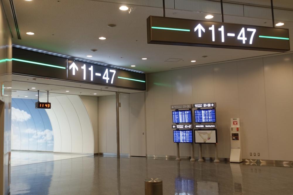 成田空港第1ターミナル 連絡通路