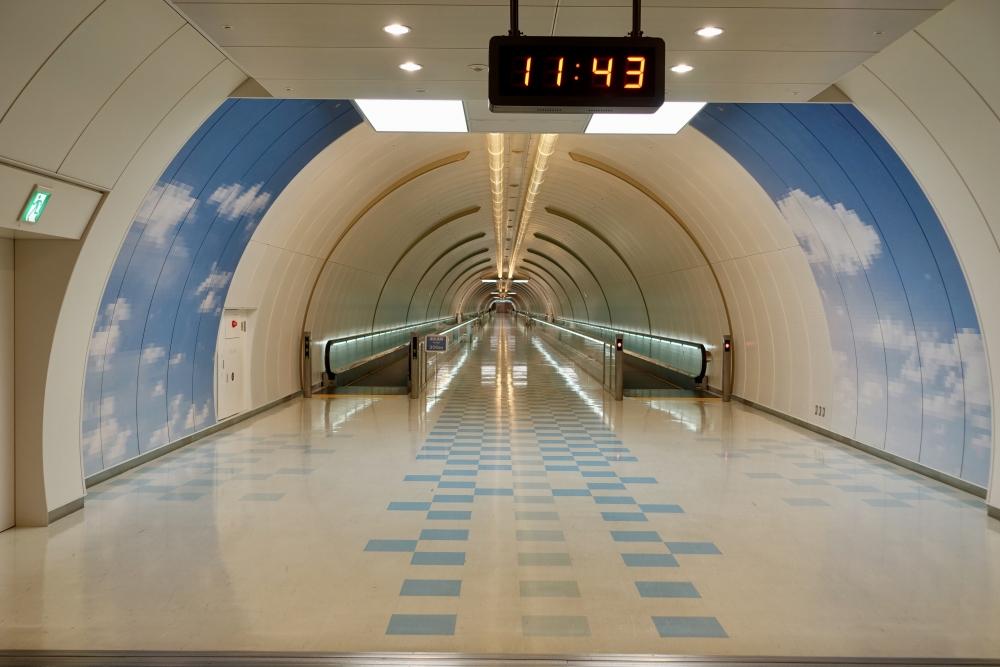 成田空港第1ターミナル サテライト連絡通路