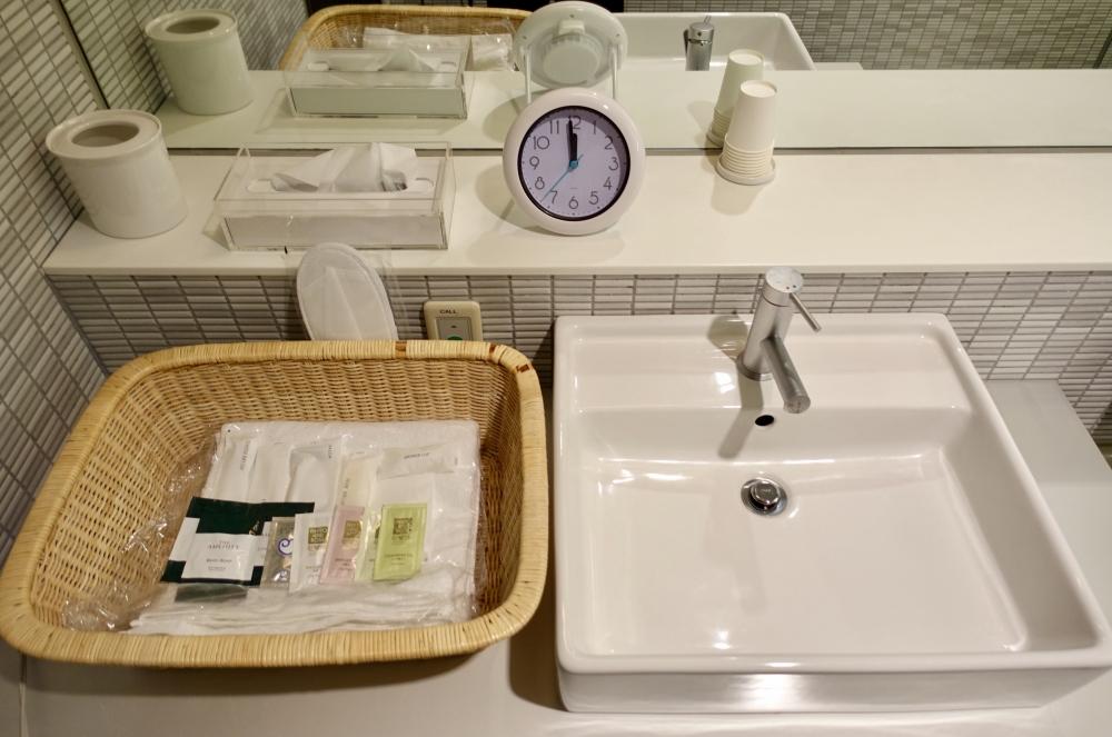 成田空港第1ターミナル 第4サテライト ANAスイートラウンジ シャワー室 アメニティ
