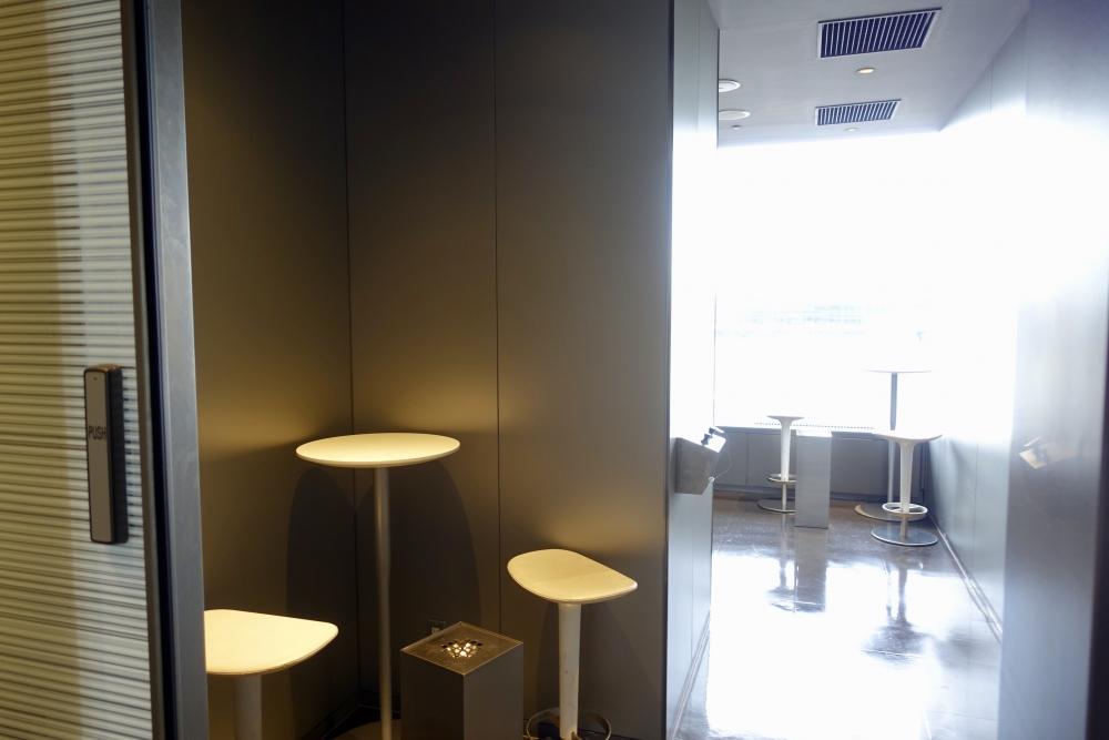 成田空港第1ターミナル 第5サテライト ANAスイートラウンジ 喫煙室