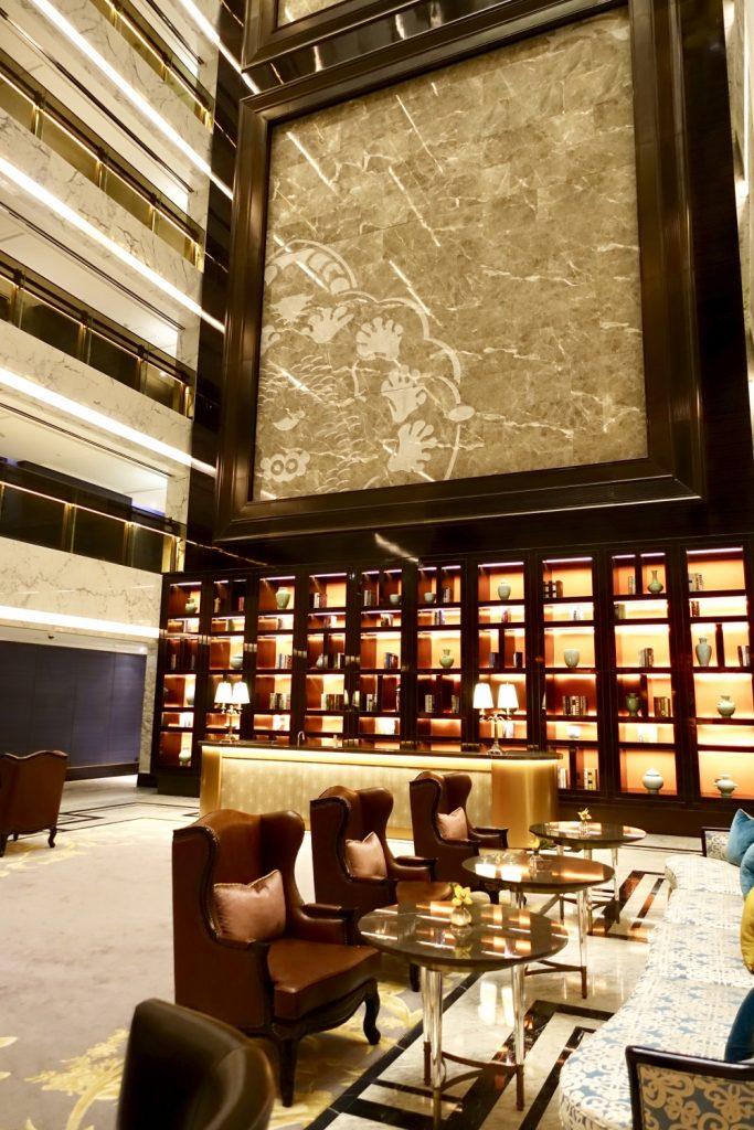 セントレジス上海静安の55階ザ・クラブ