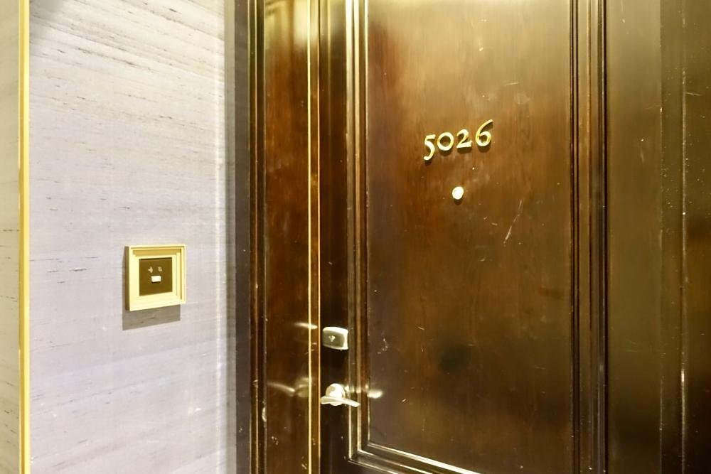 セントレジス上海 カロラインスイート ドア