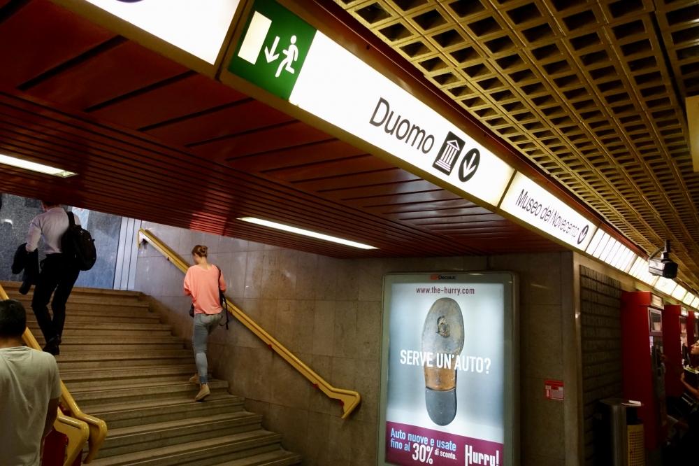 ミラノ ドゥオモ駅