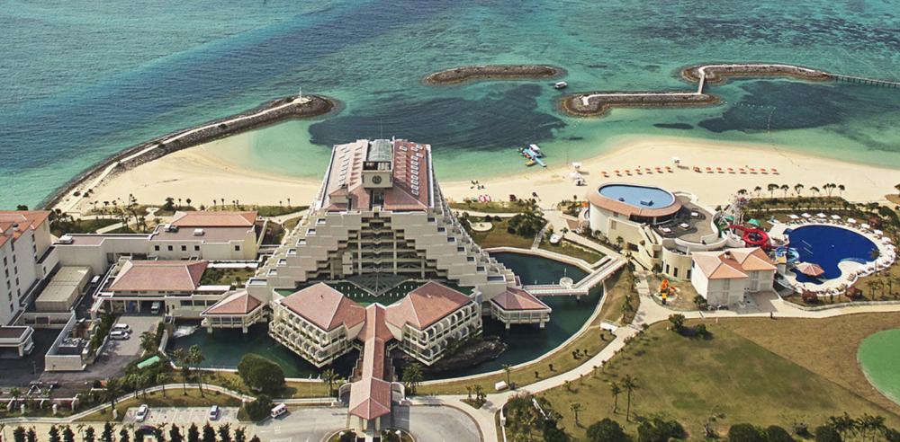 シェラトン沖縄サンマリーナリゾートの全体像