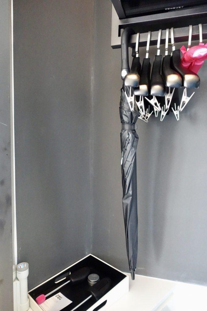 W上海 ワンダフルルーム クローゼット 傘