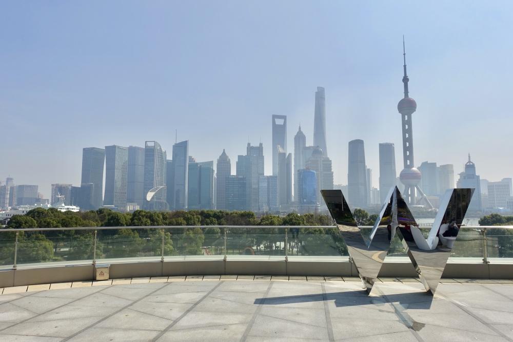 W上海 テラスからの眺め