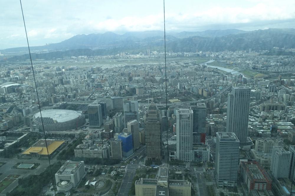 台北101 欣葉食藝軒 窓からの眺め