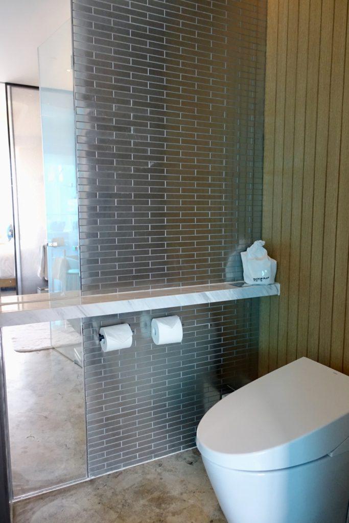 W上海 ワンダフルルーム トイレ