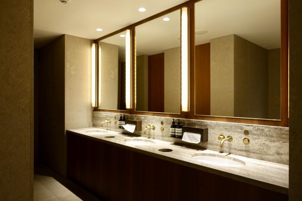 羽田空港国際線ターミナル キャセイパシフィック航空ラウンジ 化粧室