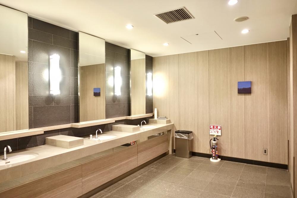羽田空港国際線ターミナル JALファーストクラスラウンジ お化粧室
