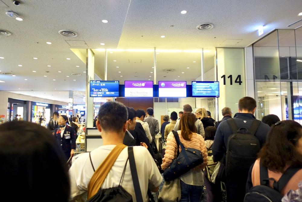 羽田空港国際線ターミナル 114番搭乗口