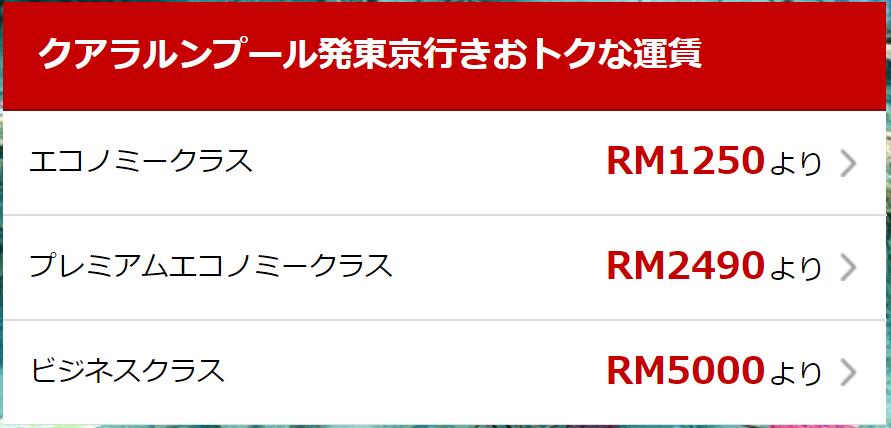 海外発券が安い国その3:マレーシア・クアラルンプール