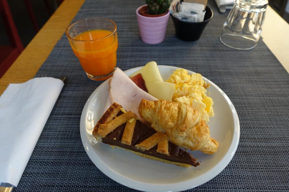 イタリア・ミラノBIOCITY朝食
