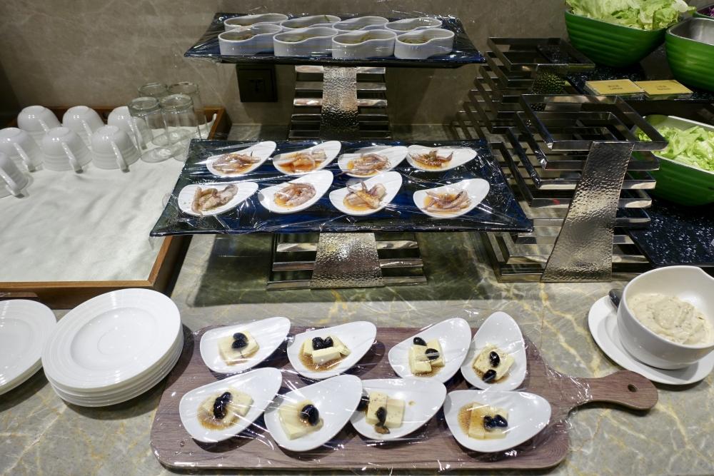 コートヤード台北エグゼクティブラウンジ朝食ブッフェ
