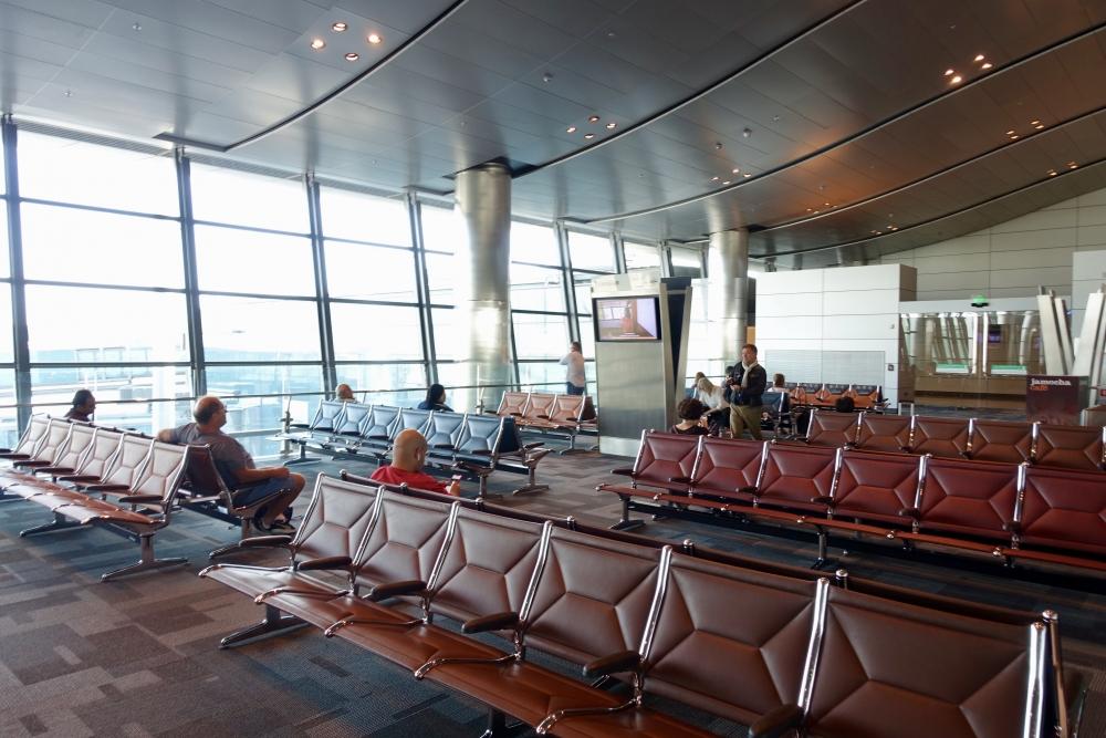 カタール航空ビジネスクラス専用待合室