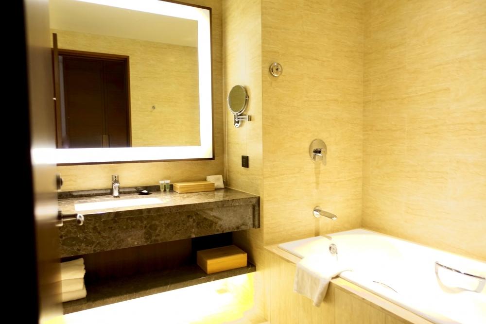 コートヤード台北エグゼクティブルームバスルーム