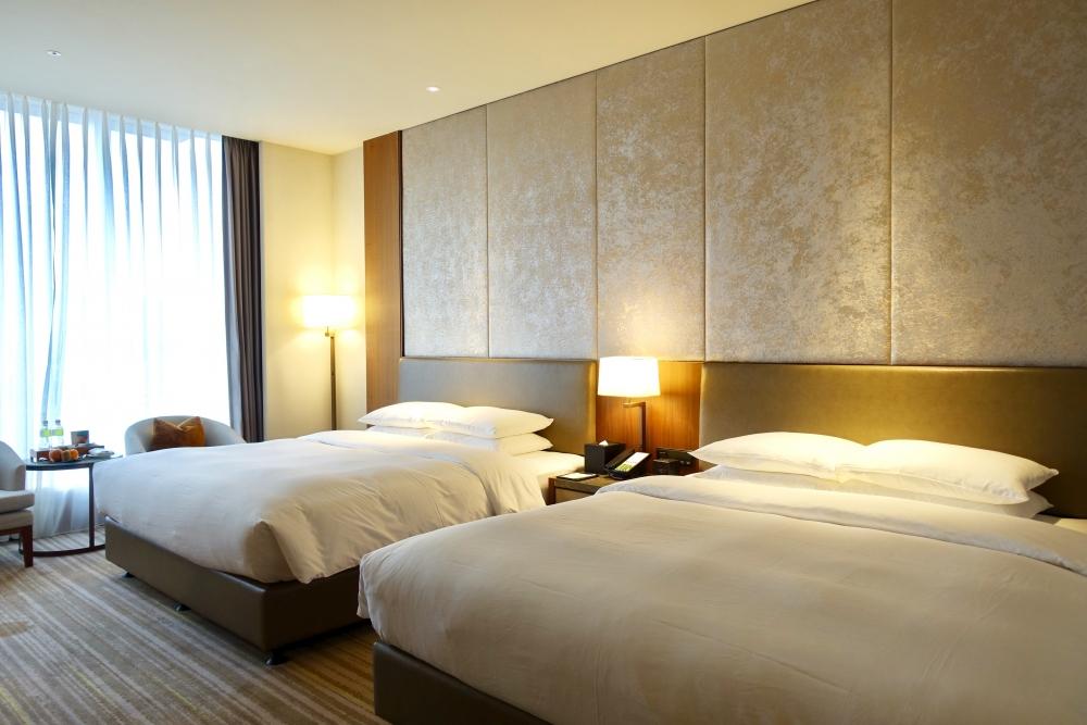コートヤード台北エグゼクティブルームベッド