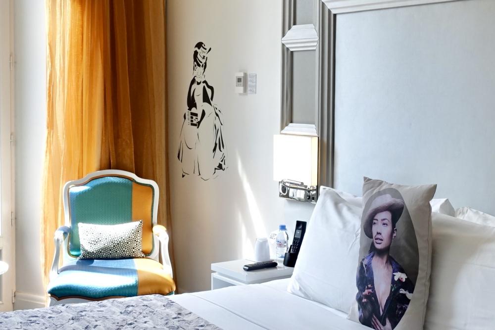 Wパリ ベッドルーム