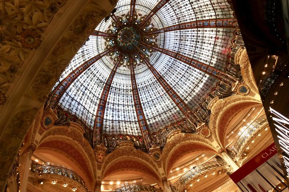 ギャラリーラファイエットの美しい天窓