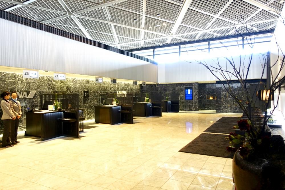 成田空港第1ターミナルZ屋敷に入室