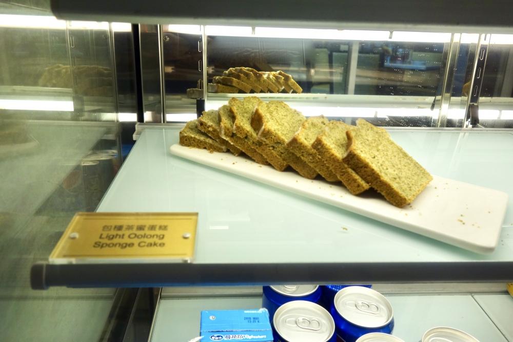 コートヤード台北エグゼクティブラウンジ冷蔵庫内のケーキ