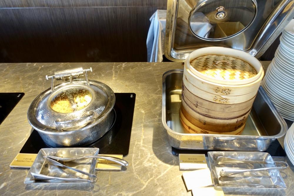 コートヤード台北エグゼクティブラウンジ朝食ブッフェ・蒸し物