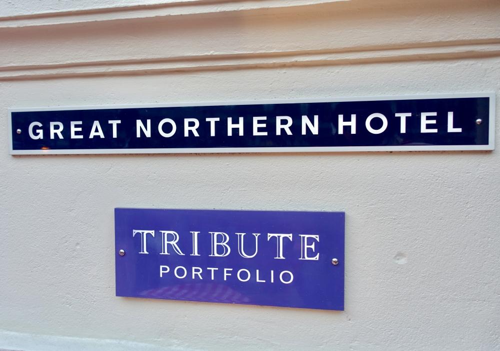 ロンドン・グレートノーザンホテルのロゴ