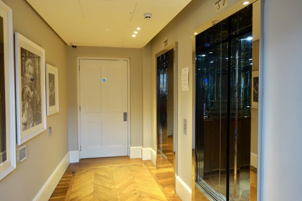 グレートノーザンホテルエレベーターホール