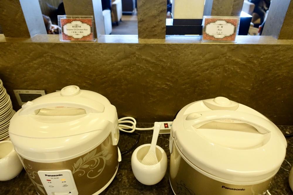 台北松山国際空港VIPラウンジ・炊飯器