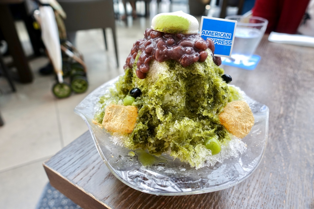 Greenカフェかき氷