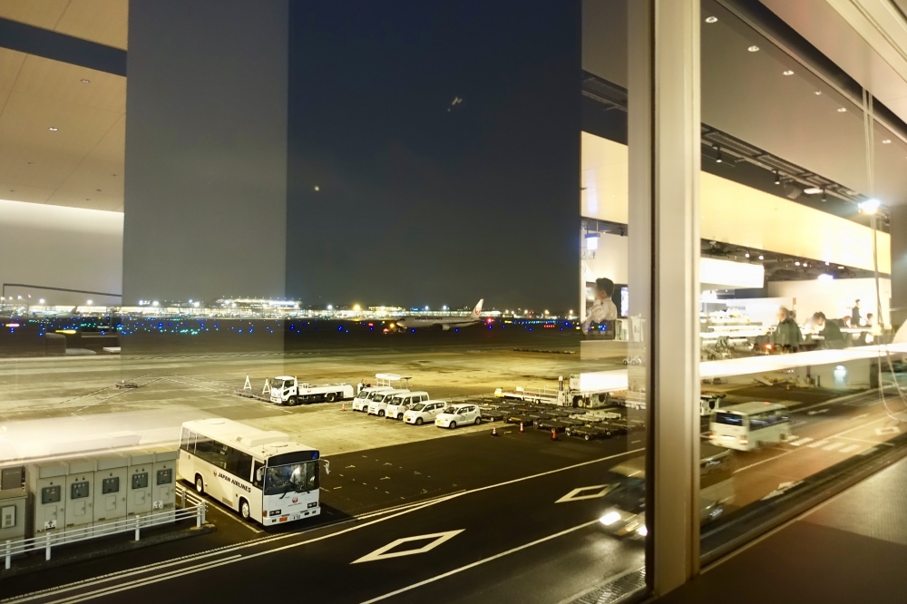 羽田空港第1ターミナルPOWERラウンジ