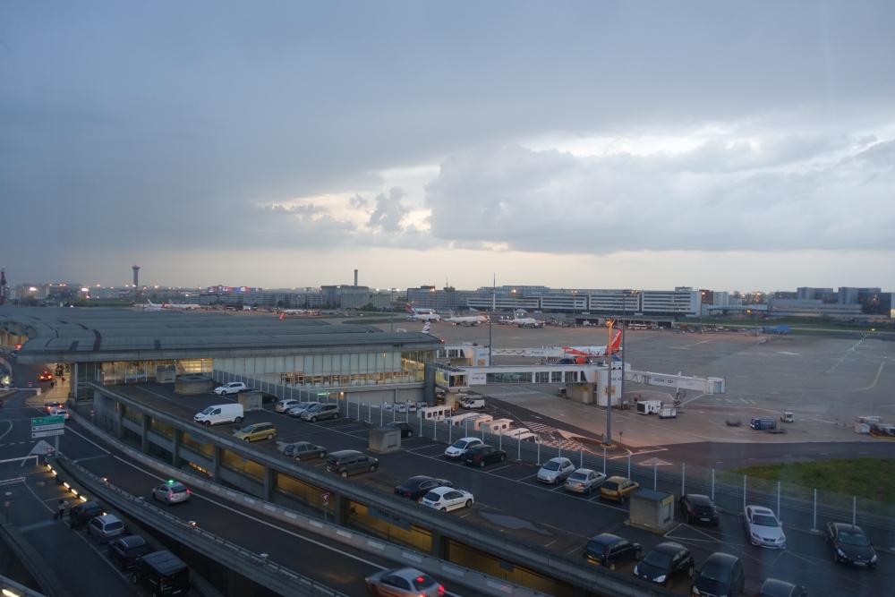 シェラトン・パリ・エアポートホテル&コンファレンスセンター駐機場の眺め