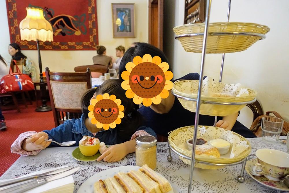 シドニー・tea cosy店内でアフタヌーンティー