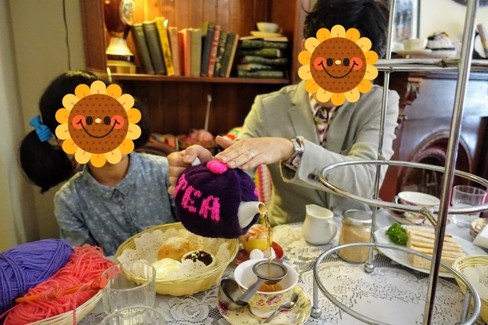 シドニー・tea cosy店内で頂くアフタヌーンティー