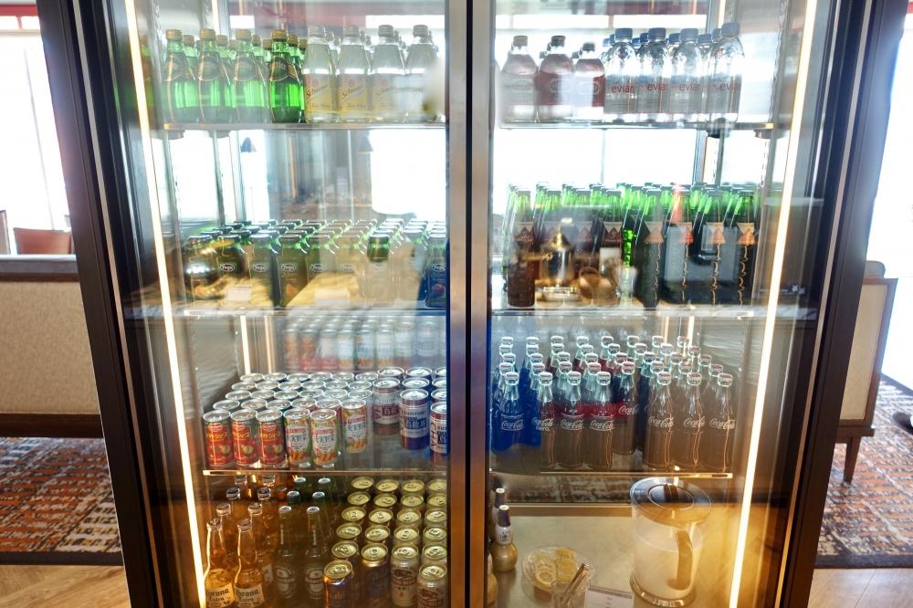 ザ・プリンスパークタワー東京プレミアムクラブラウンジ冷蔵庫