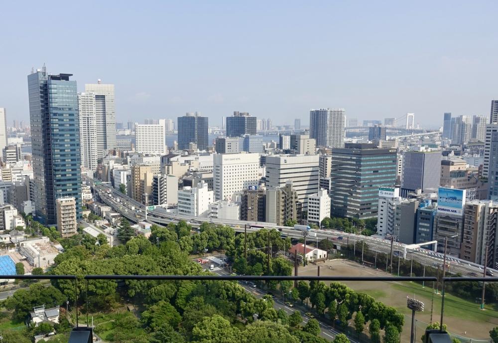 ザ・プリンスパークタワー東京プレミアムキングからの景色