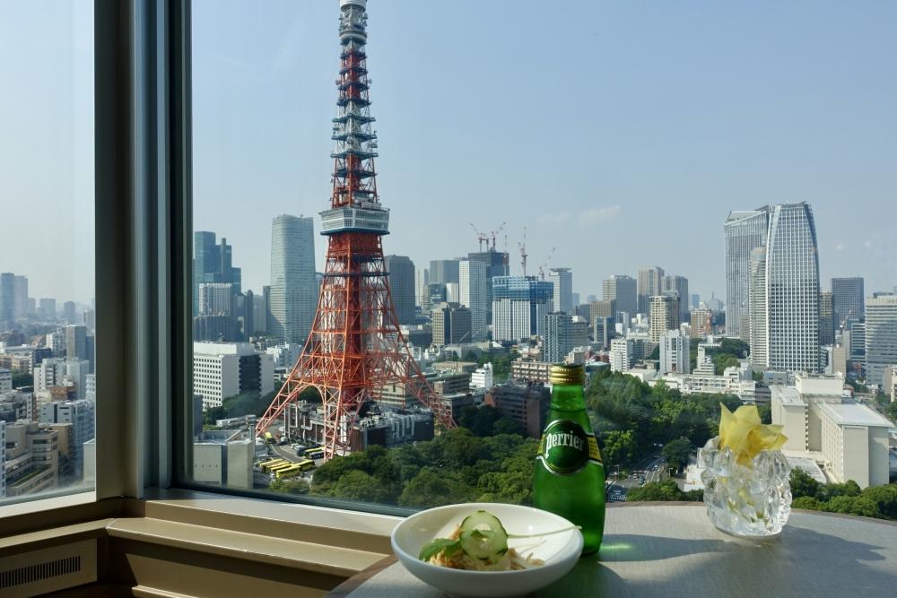 ザ・プリンスパークタワー東京プレミアムクラブラウンジティータイム