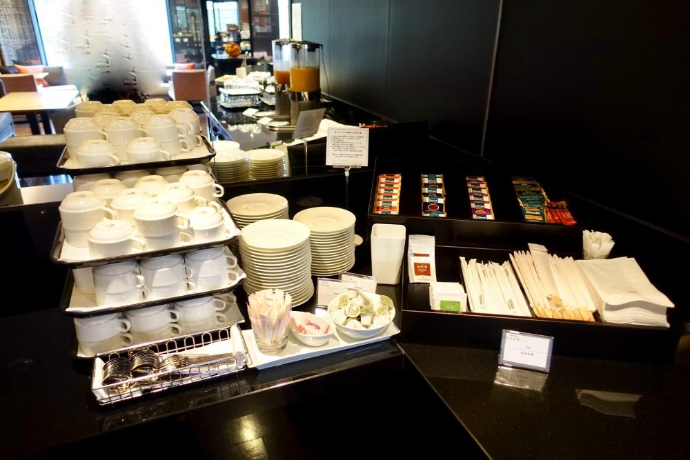 シェラトン都ホテル東京クラブラウンジドリンクバー紅茶類