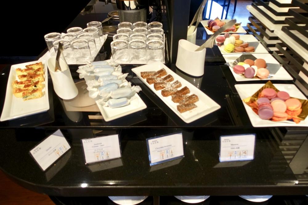 シェラトン都ホテル東京クラブラウンジティータイムサンドイッチ類