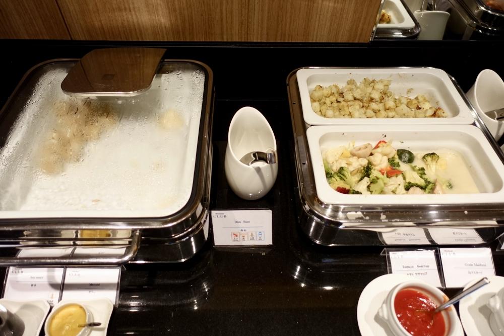 シェラトン都ホテル東京クラブラウンジ温菜