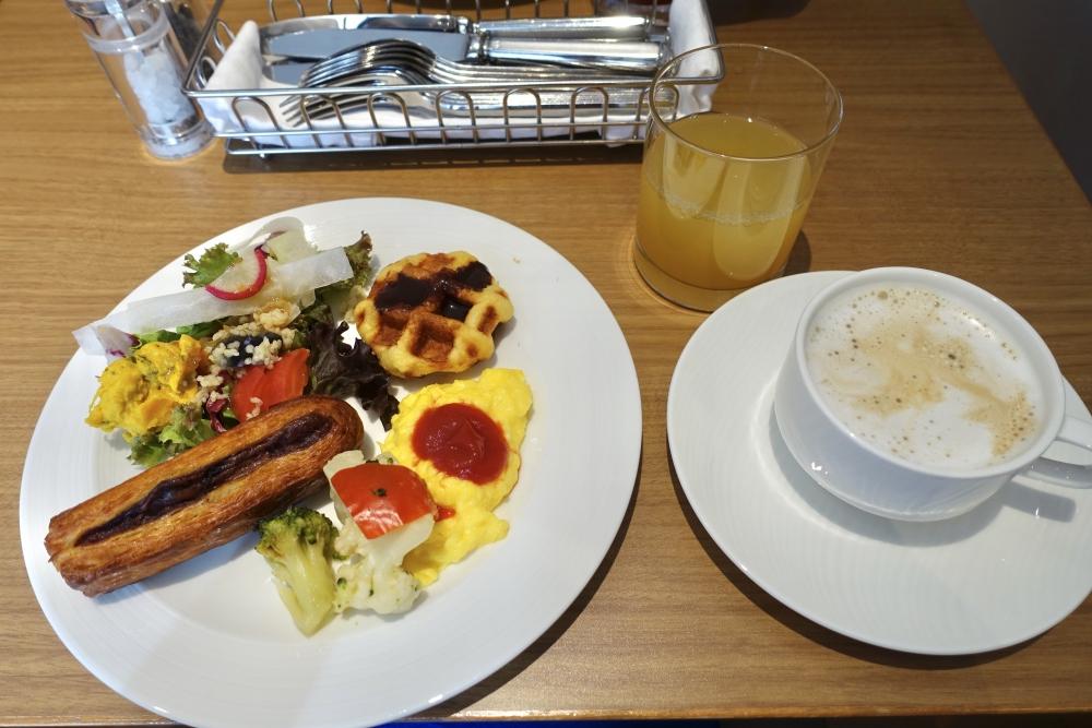 シェラトン都ホテル東京クラブラウンジ朝食