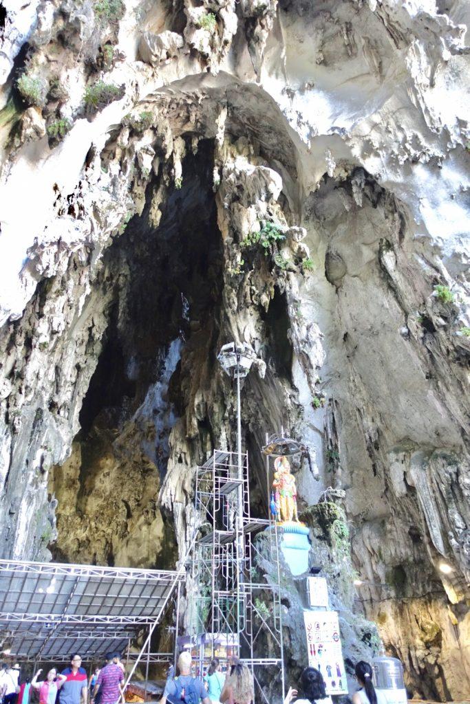バトゥ洞窟の入口