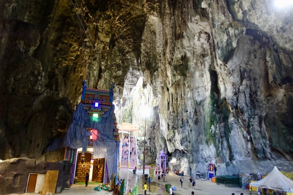 バトゥ洞窟の内部