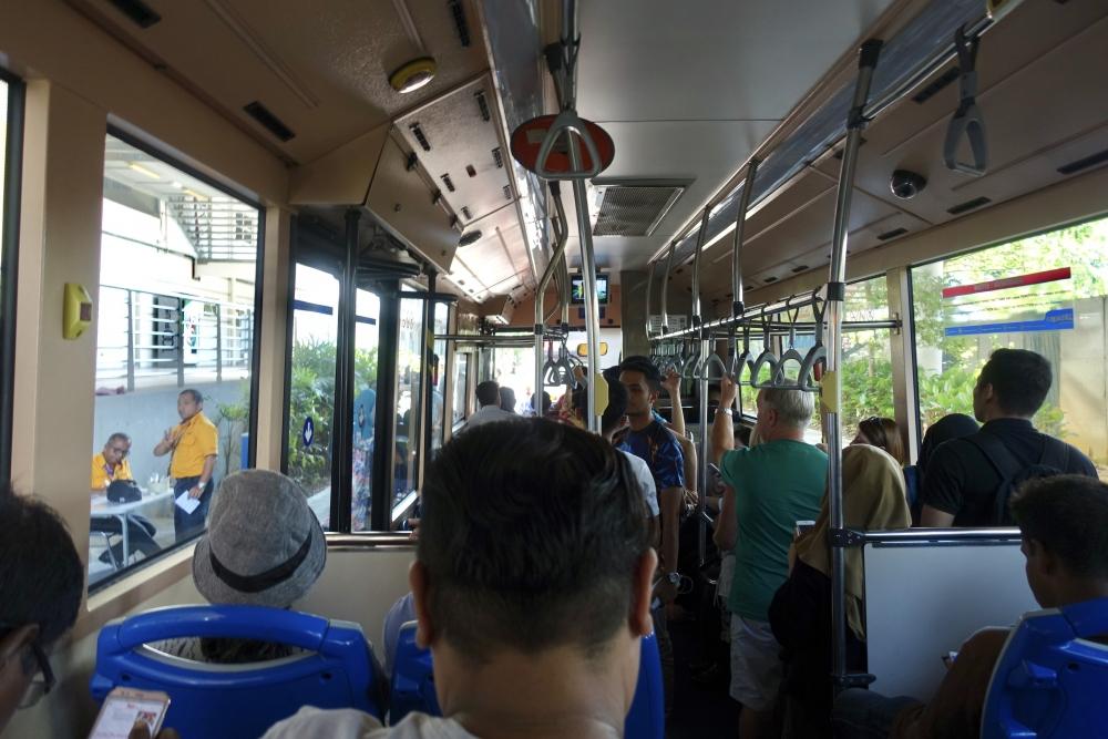 セントゥル駅からKLセントラルまでのシャトルバス