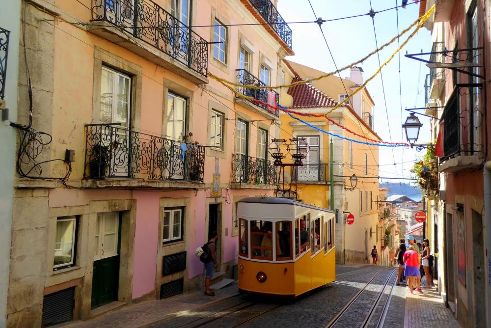 ポルトガル・リスボンの町並み