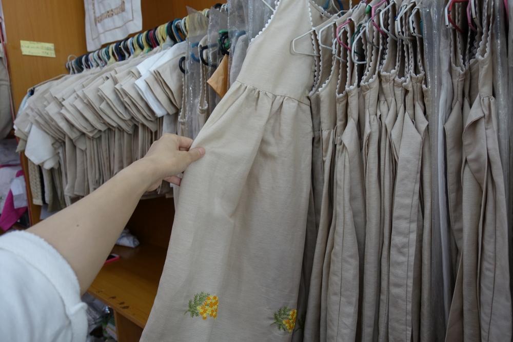 ベトナム刺繍「ハーフーン」子供服