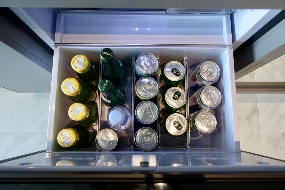 ルメリディアンクアラルンプール・メリディアンスイート冷蔵庫